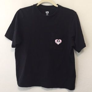Uniqlo Mickey Mouse Smile Tee Shirt